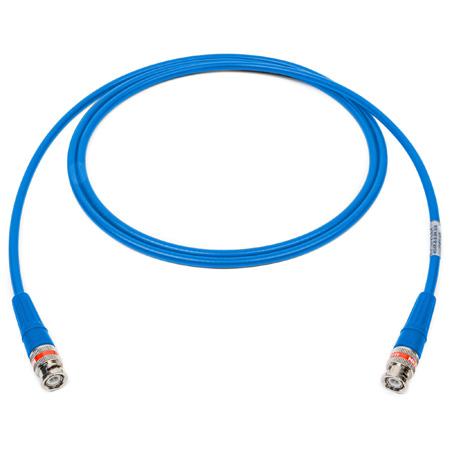 Laird 4505R-B-B-LB-003 12G-SDI/4K UHD Single Link BNC Cable - Light Blue - 3 Foot