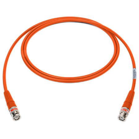 Laird 4505R-B-B-OE-003 12G-SDI/4K UHD Single Link BNC Cable - Orange - 3 Foot