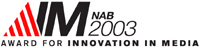 AIM 2003 Award Logo