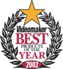 Videomaker Best Product of the Year Award