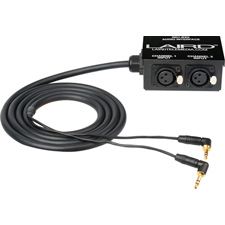 Get larger image of Laird RD1-BX2 RED Epic/Scarlet 3.5mm to Full-Size XLR Audio Interface
