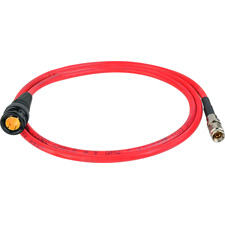 Get larger image of Laird RD1-DINB-3RD 3G-SDI DIN 1.0/2.3 to BNC Male Video Adapter Cable - 3 Foot - Red