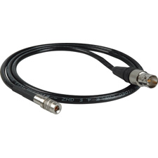 Get larger image of Laird RD1-DINBF-3 3G-SDI DIN 1.0/2.3 to BNC Female Adapter Cable - 3 Foot - Black