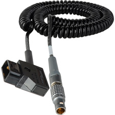 Get larger image of Red One Coiled 12V DC Power Cable - Lemo 2B-6M to AB Power Tap - 2-5 Ft.