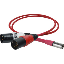 Get larger image of Laird Red One Camera Line Audio Out TA5M to Dual XLR-Male Breakout Cable