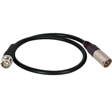 Get larger image of TecNec Timecode Cables XLR Male To BNC