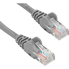 Get larger image of CAT5E Shielded F/UTP 24AWG 7 Foot - Gray