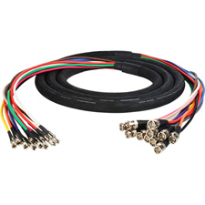 Get larger image of 3G/HD-SDI Gepco VS12230 12-Channel DIN1.0/2.3 Male to BNC Male Video Adapter Snake Cables