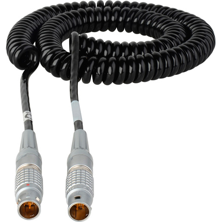 Get larger image of Laird RD1-PWR1-2C Red One 12V DC Power Cable Lemo 2B 6-Pin Male to 2B 6-Pin Male - 2-5 Foot Coiled