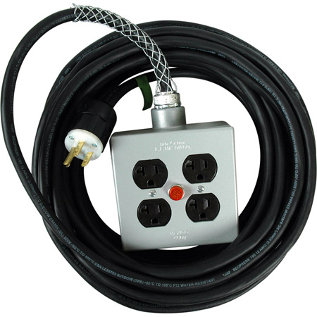 Get larger image of Laird Ultra Heavy Duty AC Extension Cords with Light