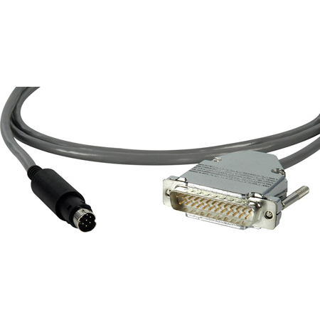 Get larger image of Laird Visca Camera Control Cable 8-Pin DIN Male to 25-Pin D-Sub Male